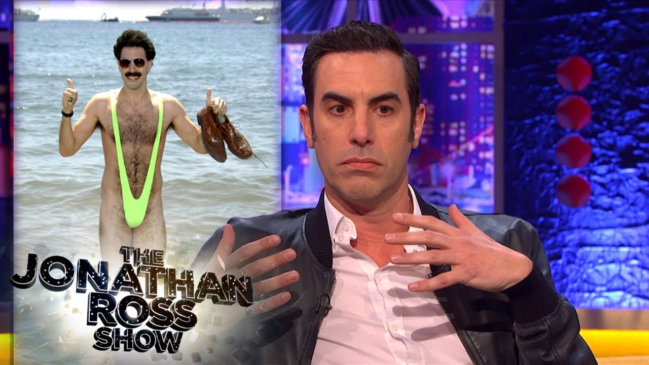 Download Sacha Baron Cohen Relives Times He Went Too Far | The Jonathan Ross Show