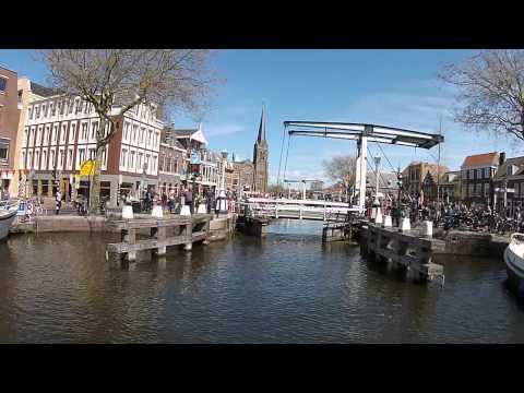 Dronevlucht Sluisjes Leidschendam Koningsdag 2015