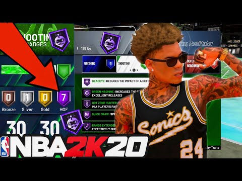 NBA 2K20 BADGE GLITCH MAX OUT BADGES IN A DAY!(PS4&XBOX)AFTER PATCH 1.14! from YouTube · Duration:  2 minutes 53 seconds