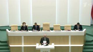 Коронавирус внес коррективы в работу Совета Федерации