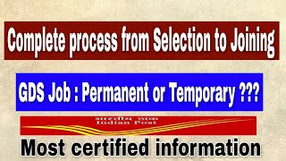 Complete process after Selection in GDS | Post selection procedure in GDS | By Success Elite