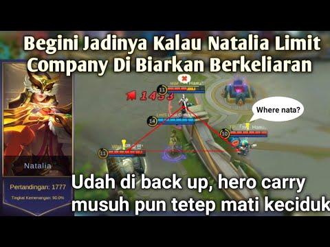 Begini Jadiny kalo Natalia Limit Company Di Biarkan Berkeliaran Di Map, Solo Kill for Instant Kill