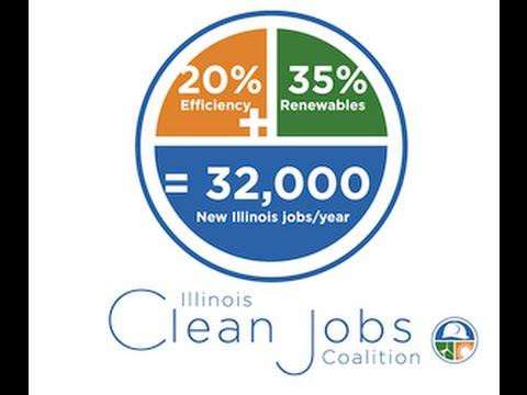 IEC - Illinois Clean Jobs Coalition Announcement, Springfield 2015