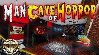 MAN CAVE OF HORROR : HAPPY HALLOWEEN : House Flipper Gameplay :  Ep 19
