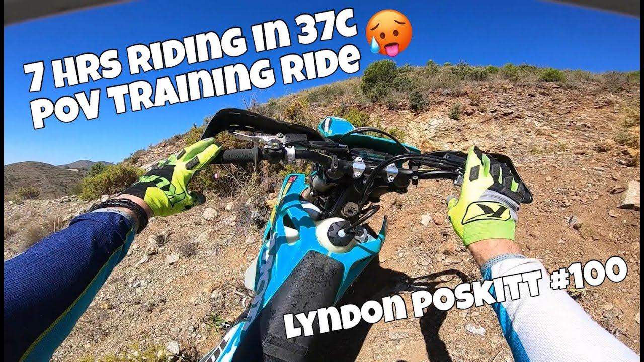Download A POV training ride with Lyndon Poskitt on his TE300i