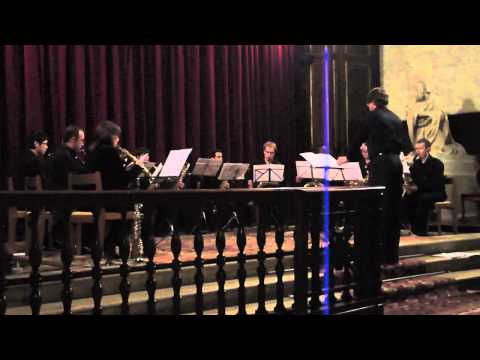 BBCRR Saxophone Ensemble - Bach Tocatta and Fugue in D Minor - 4 February 2012