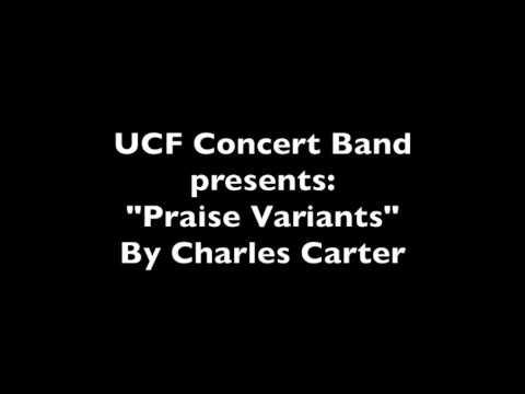 Praise Variants--Charles Carter (Professional Audio)