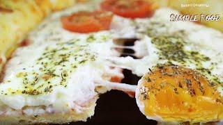 готовьте ДВОЙНУЮ ПОРЦИЮ! Вкусный и простой турецкий рецепт ПИДЕ с яйцом и сыром!