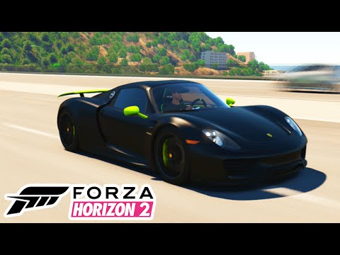 forza horizon 2 porsche spyder muito top dlc porsche 48 youtube. Black Bedroom Furniture Sets. Home Design Ideas