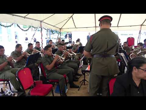 HMAF Brass Band - Official Opening - St George Government Building