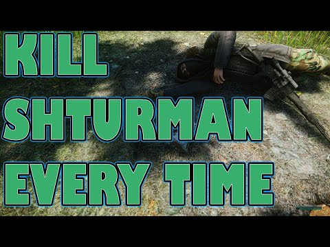 HOW TO KILL Shturman (WOODS BOSS) 95% OF THE TIME. Elimination Guide.