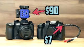 Two microphones into one camera: DXA-GO vs Breakout Cable