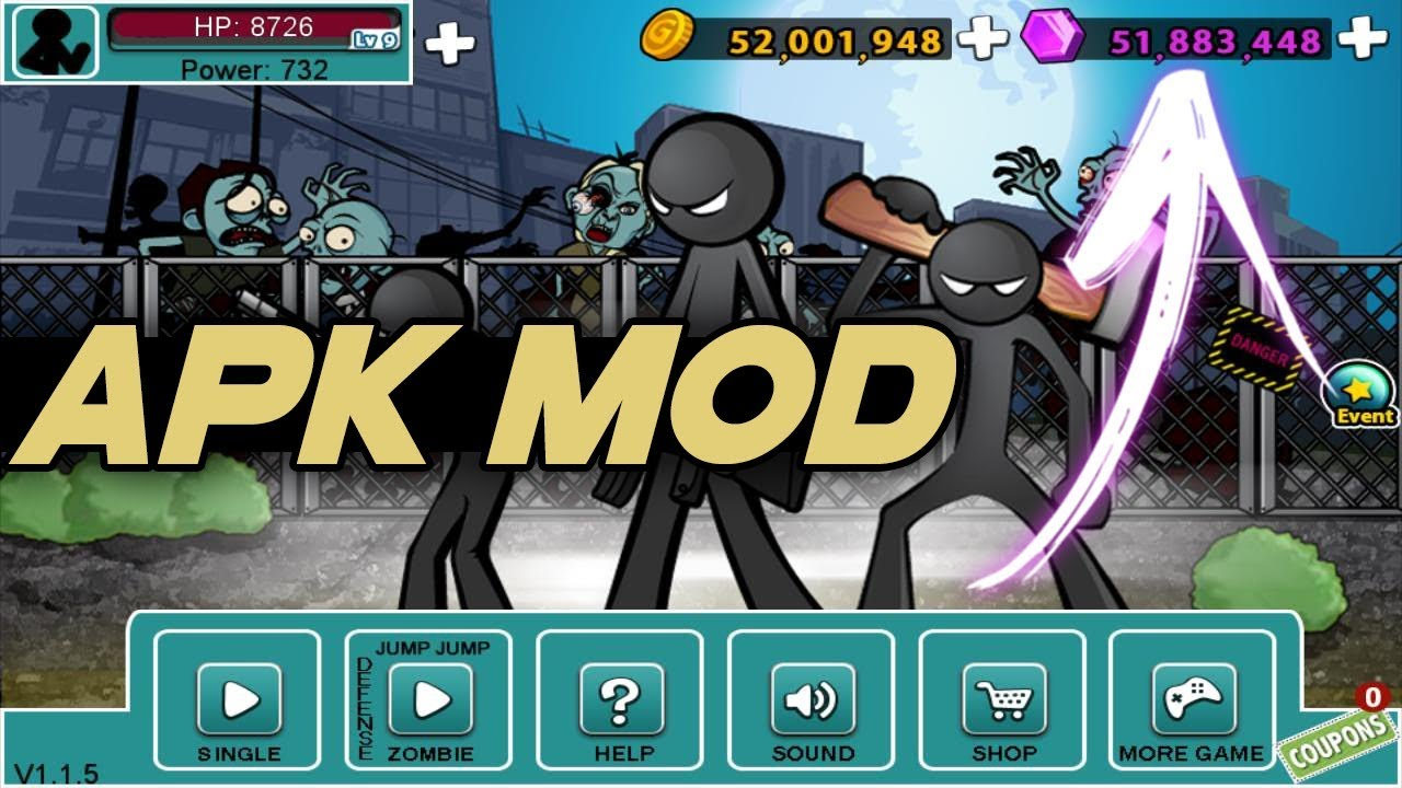 anger of stick 5 apk day