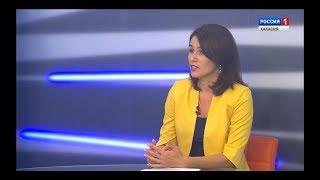 Смотреть видео Татьяна Пауль. Интервью дня. Россия - 24. Хакасия онлайн