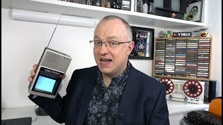 One of Techmoan's most viewed videos: Whatever happened to Handheld TVs?