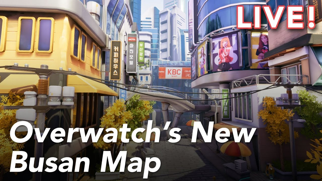 Overwatch's New Busan Map with Paul and Tim   8/22/18