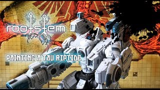 Painting a Tau Riptide, Warhammer 40k Painting guide