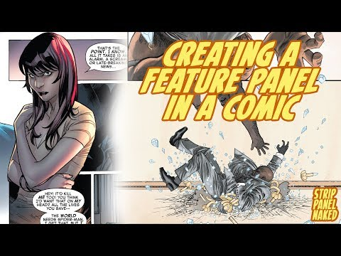 Using Feature Panels in Comic Books | Strip Panel Naked