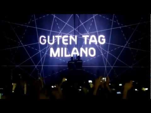 Paul Kalkbrenner -Guten Tag tour@Milano 2013 part1