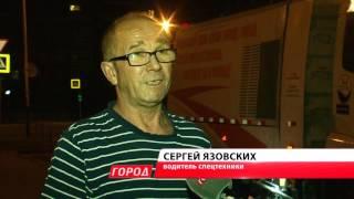 Работники ГСТК чистят улицы Благовещенска по ночам