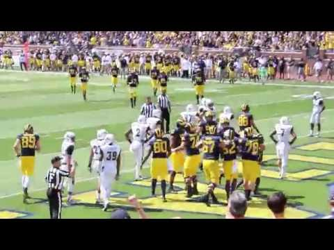 Gameday in Ann Arbor - Michigan Football