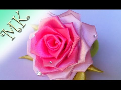 Резинка своими руками роза