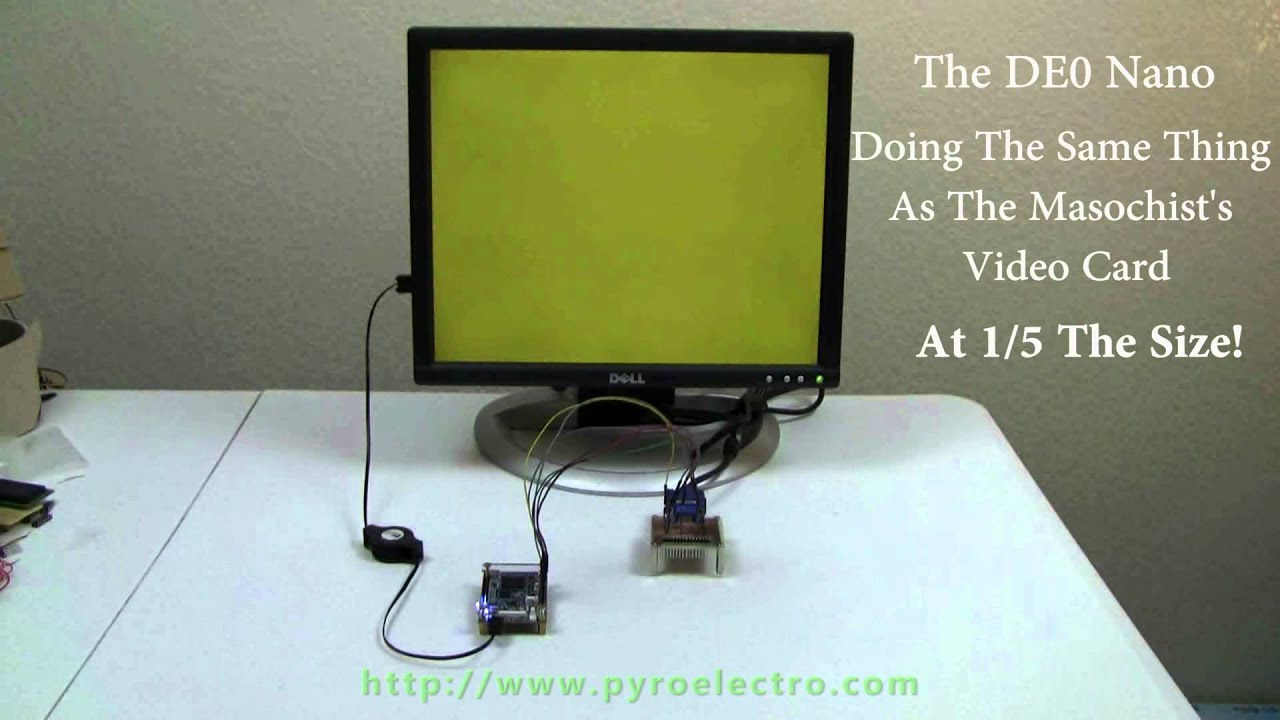 HDMI Color Processing Board Used As An FPGA Dev Board To ...