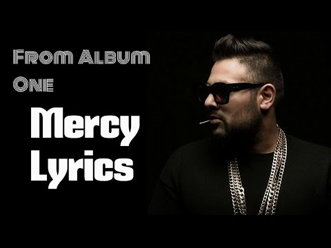 Badshah new song 2017 - Mercy Feat (Lyrics)
