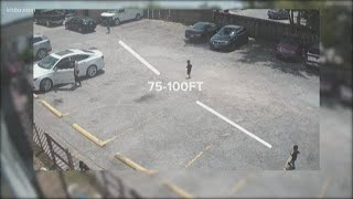 Video shows moments just before boy is run over in south Houston parking lot