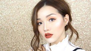 (ENG)Matte Orange Makeup - Trang điểm Tông Cam Đất Cá Tính   Tina'sBeautyTips