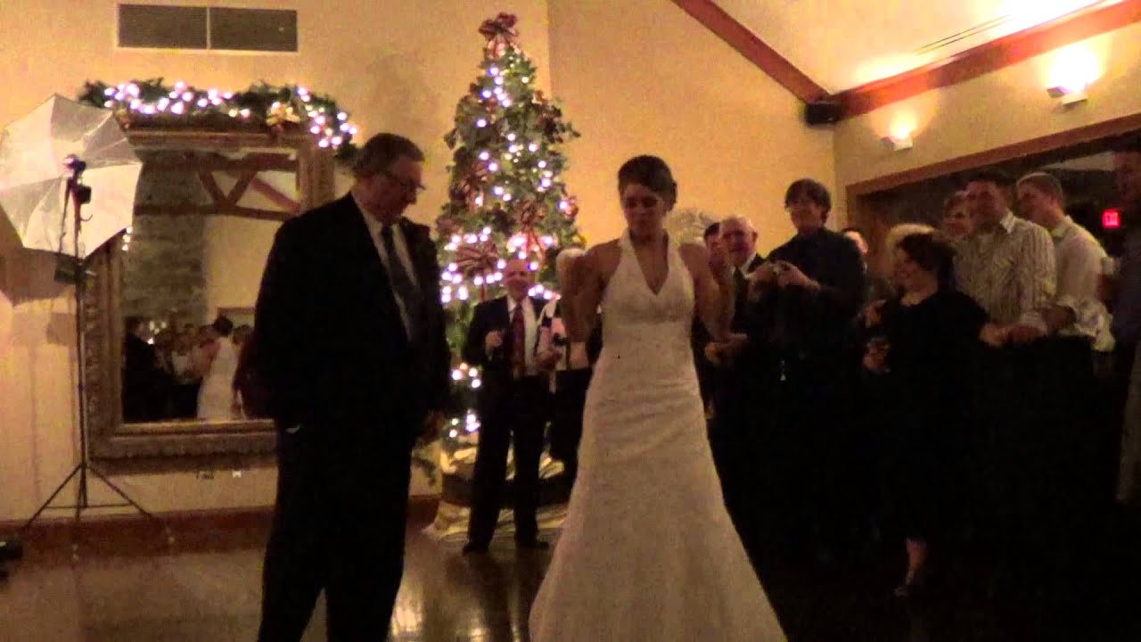 Funny Wedding Father Daughter Dance