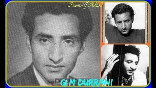Download Hindi Video Songs - G M DURRANI-Film-GHAYAL-(1950)-Hazaron Khwahishein Aisi Ke Har Khwahish Pe Dam Nikle-[ Great Gem in