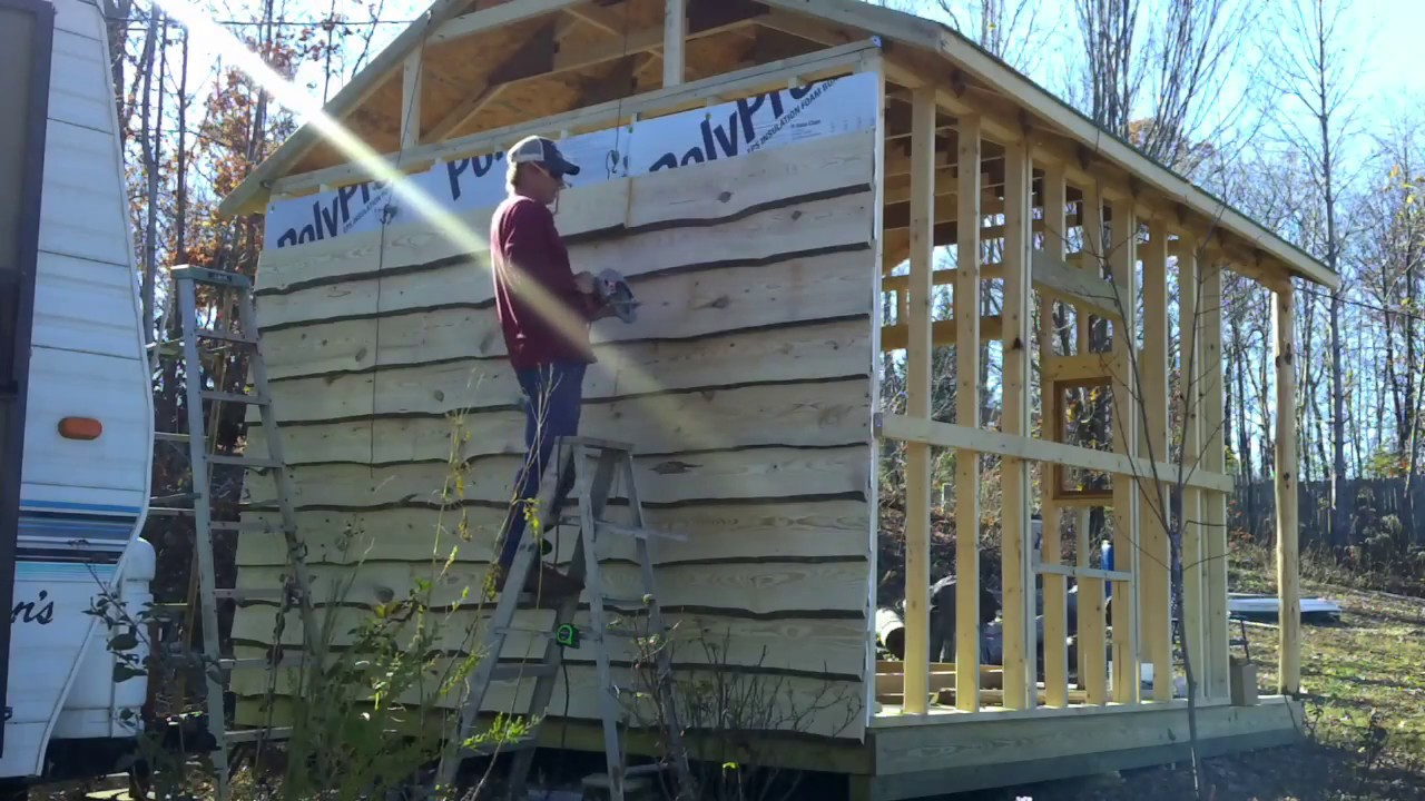 img cabins update siding cabin