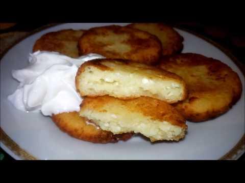 Сырники на сковороде. Пошаговый видео рецепт.