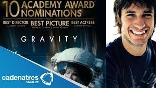 Gael García orgulloso de la nominaciones de Alfonso Cuarón / Gael proud to Alfonso Cuarón