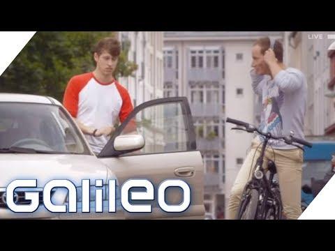 Darf ich beim Radfahren Musik hören? 5 Tipps für Fahrradfahrer | Galileo | ProSieben