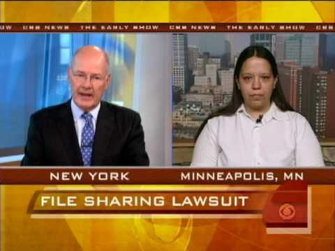Woman Fights File-Sharing Suit