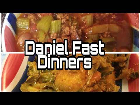 Vegetarian Chili& Ethiopian Cabbage Cooking Video + Recipe On Daniel Fast