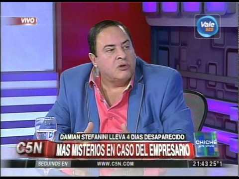C5N - CHICHE EN VIVO: MISTERIOS EN EL CASO DEL EMPRESARIO