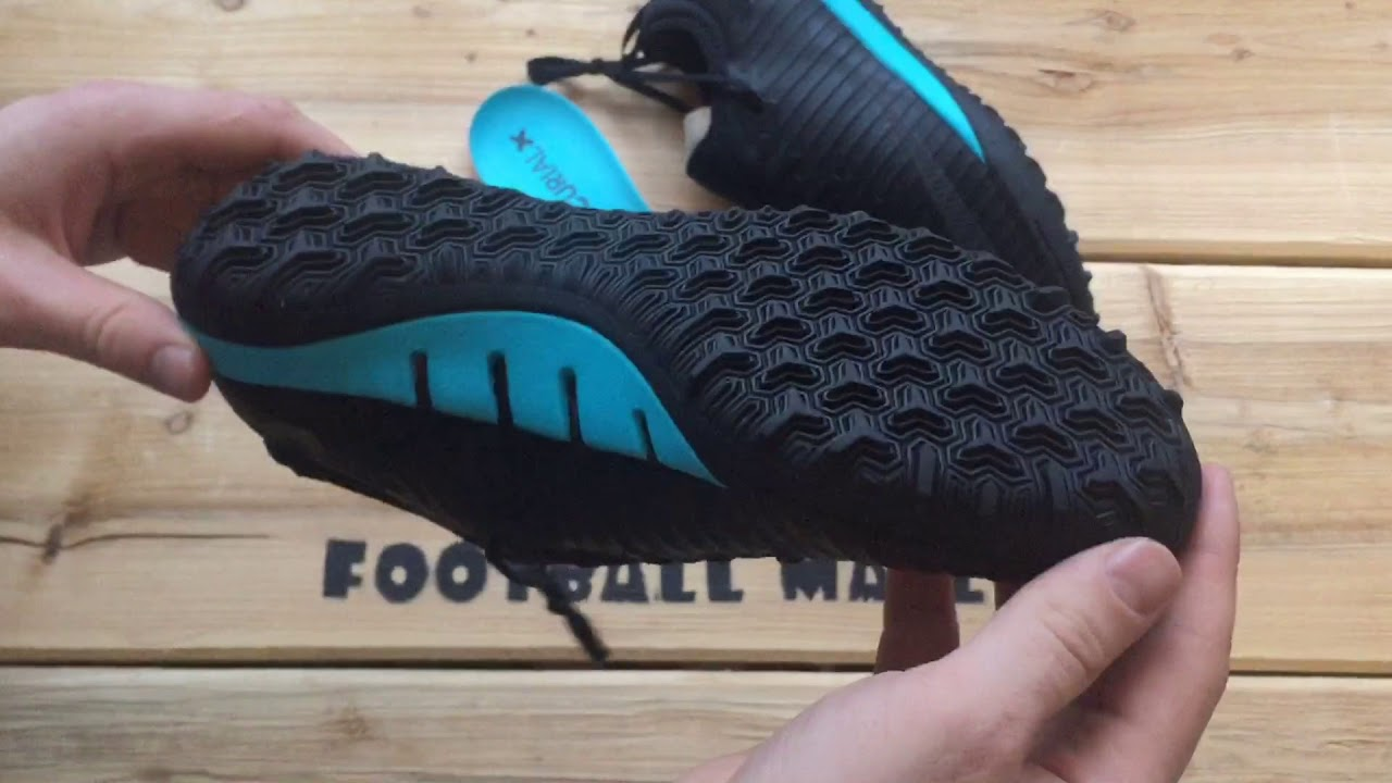 best service 69515 c10a7 Обзор Nike MercurialX Finale II SE TF Black Gamma Blue 897742-004
