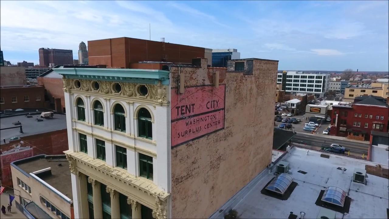 Hunt Commercial 674 Main Street Buffalo Ny Tent City Youtube