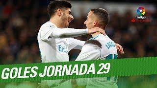 Todos los goles de la Jornada 29 de LaLiga Santander 2017/2018