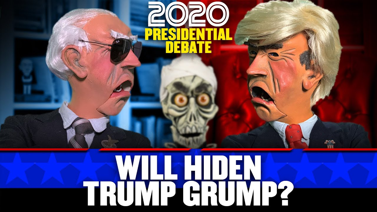 Jeff Dunham Halloween 2020 2020 Presidential Election: Will Hiden Trump Grump? | JEFF DUNHAM