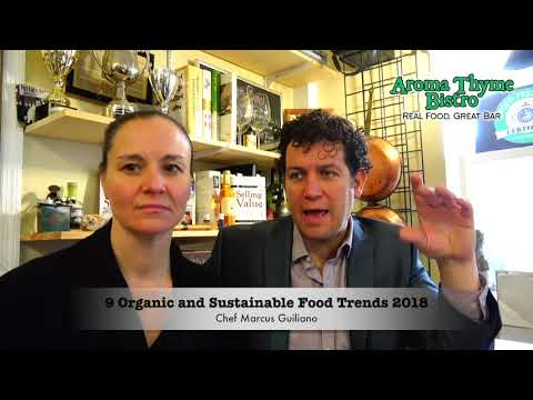 Organic Food trends for 2018