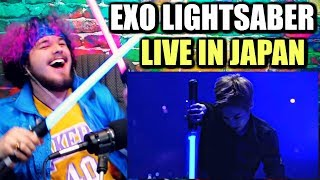 Video EXO - LIGHTSABER (The EXO'rDIUM in Japan) | REACTION!! download MP3, 3GP, MP4, WEBM, AVI, FLV Agustus 2018