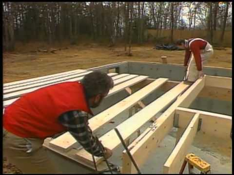 Raising the Girt Beam and Building the Deck