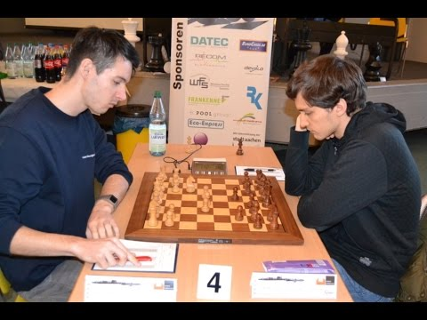 GM Huschenbeth vs GM Donchenko German Bundesliga 2016 | Gran