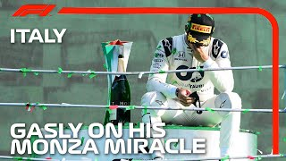 Pierre Gasly On His Monza Miracle | 2020 Italian Grand Prix
