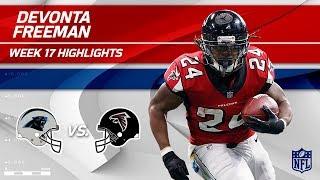 Devonta Freeman Highlights | Panthers vs. Falcons | Wk 17 Player Highlights
