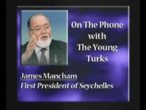 James Mancham, First President of Seychelles